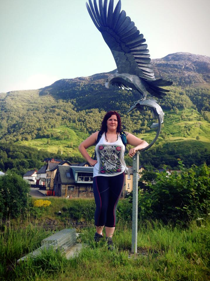 Eagle Statue in Kinlochleven